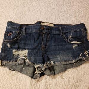 Size 9, Hollister jean short shorts